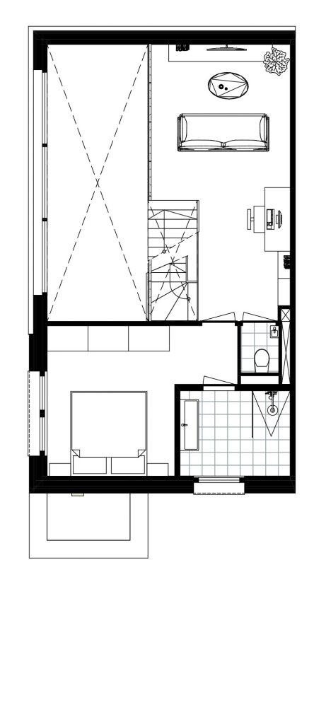 nugter Architectuur-plattegrond-kavelwoning-ontwerp-den-haag-schapenatjesduin-01 kijkduin