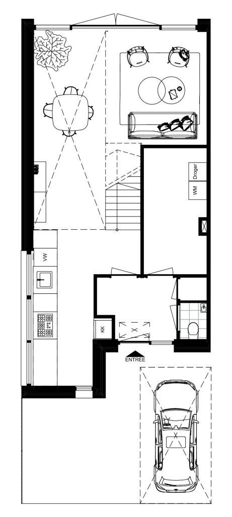 nugter Architectuur-plattegrond-kavelwoning-ontwerp-den-haag-schapenatjesduin-bg