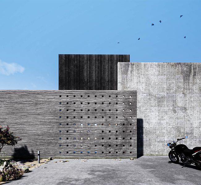architect beton villa Den Haag