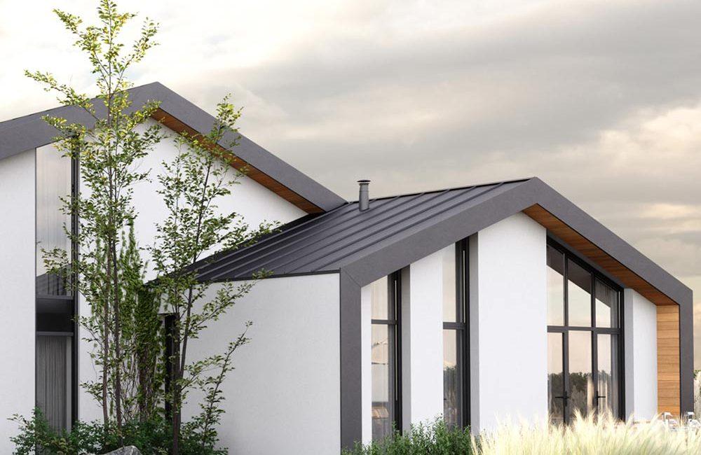 nieuwbouw architect Den Haag villa 3d beeld gevel