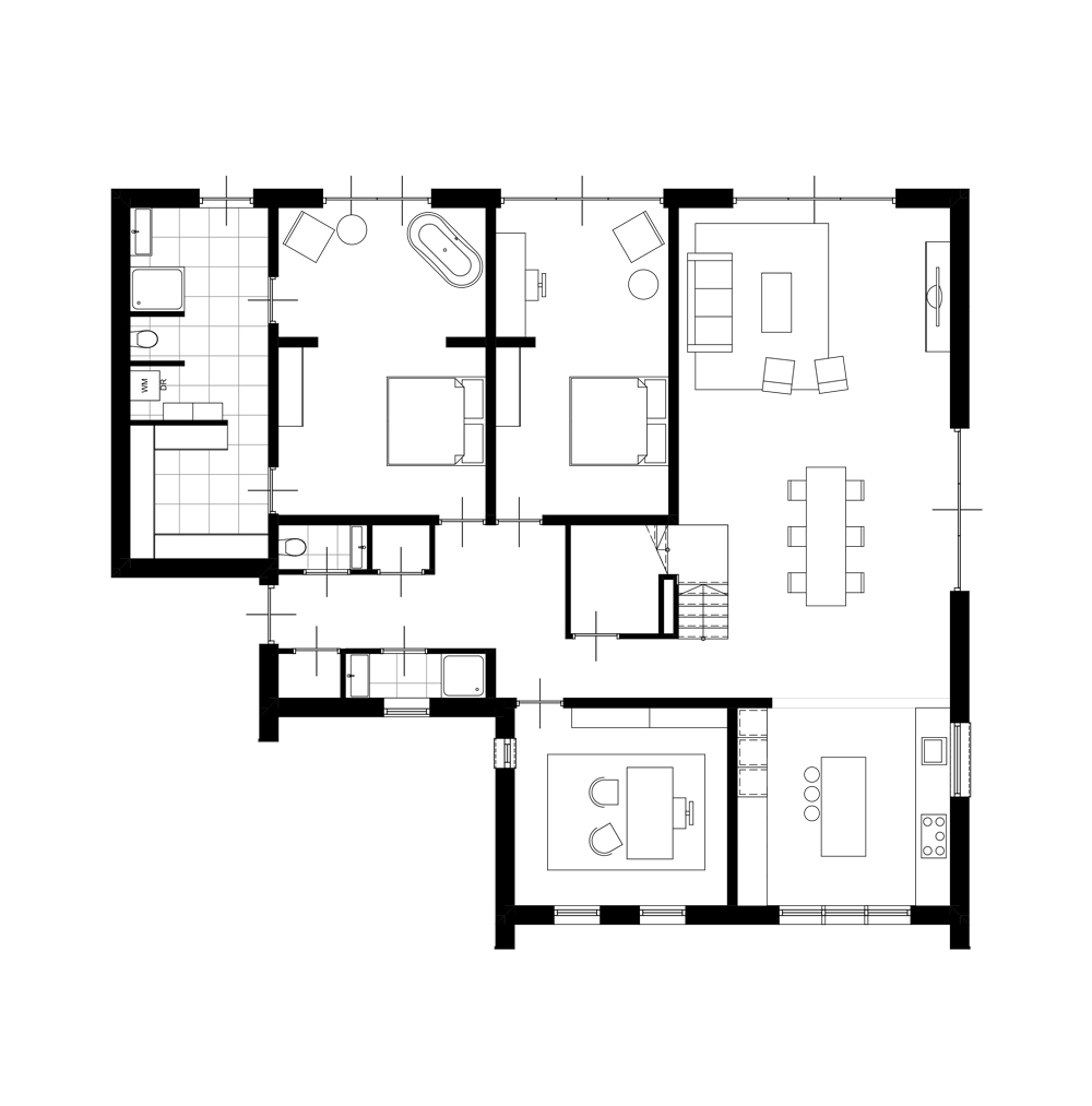 nieuwbouw architect Den Haag villa Amsterdam 2